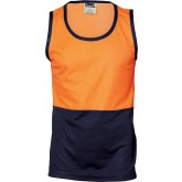 HiVis Cotton Back Singlet