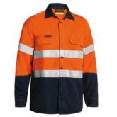 Tencate Tecasafe® Plus 580 TapedHi-Vis Lightweight FR Vented Shirt