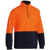 Hi-Vis Polar Fleece Zip Pullover