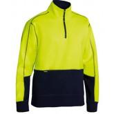 Hi-Vis Fleece Zip Pullover