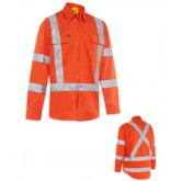 Taped X Back Biomotion CoolLightweight Hi-Vis Shirt