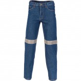 Stretch Denim Jeans 3M tape