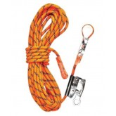 Kernmantle Rope with Thimble  Eye and Rope Grab - 20m