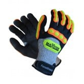 MaxiTek ForceShield Gloves - CUT 5Anti Vibration, Impact Protection - High Dexterity